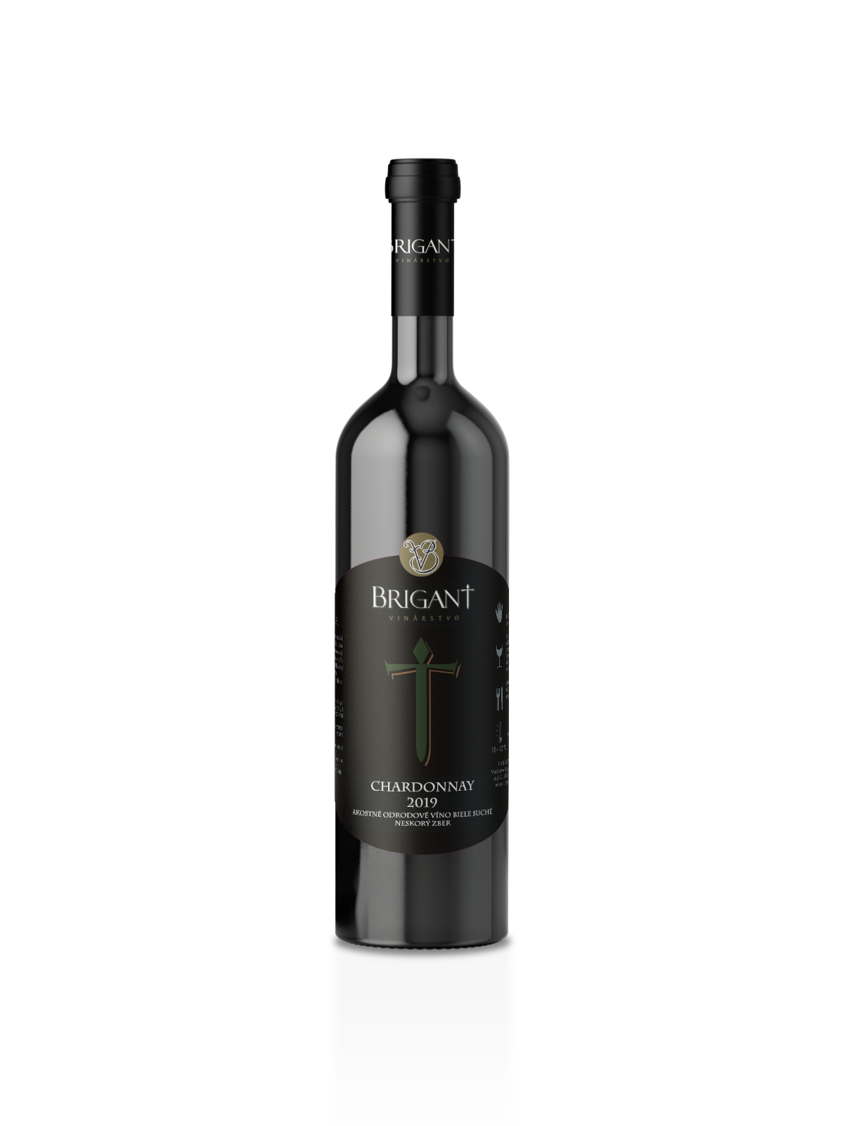 Chardonnay biele víno suché 2019